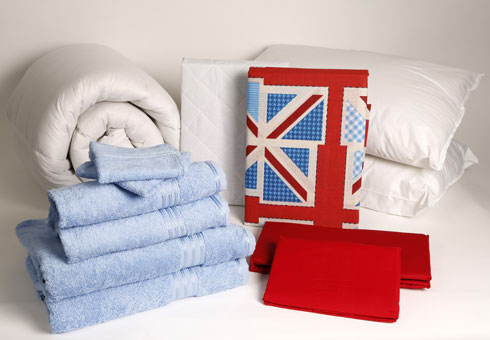 Student Linen Home Comfort Plus Pack - Union Jack Duvet Cover-2895