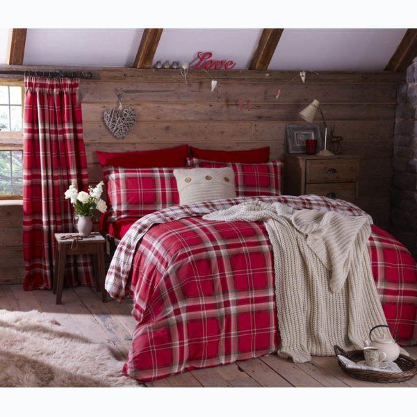 Student Linen Home Comfort Pack - Kelso Reversible Duvet Cover-3341
