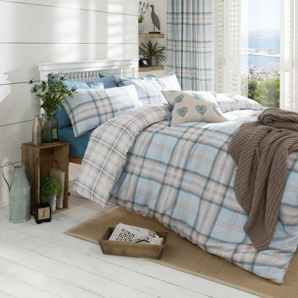 Student Linen Home Comfort Pack - Kelso Reversible Duvet Cover-3343