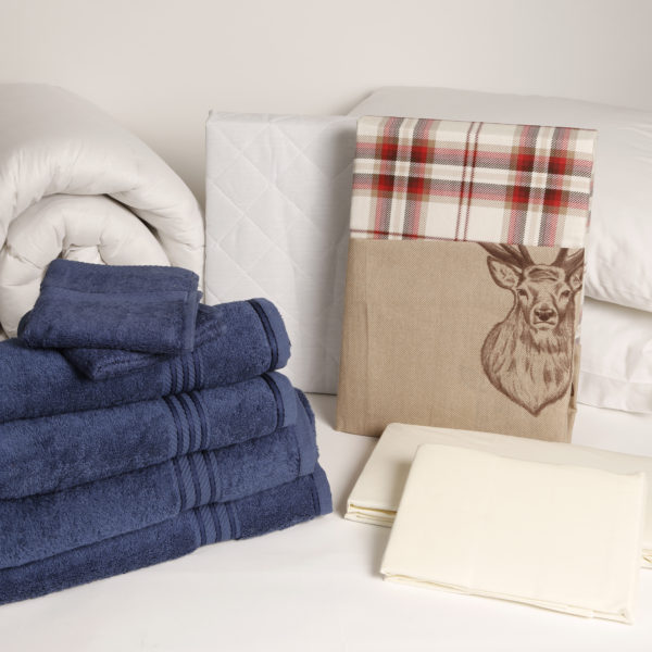 Student Linen Home Comfort Pack - Autumn Stag Duvet Cover-2939