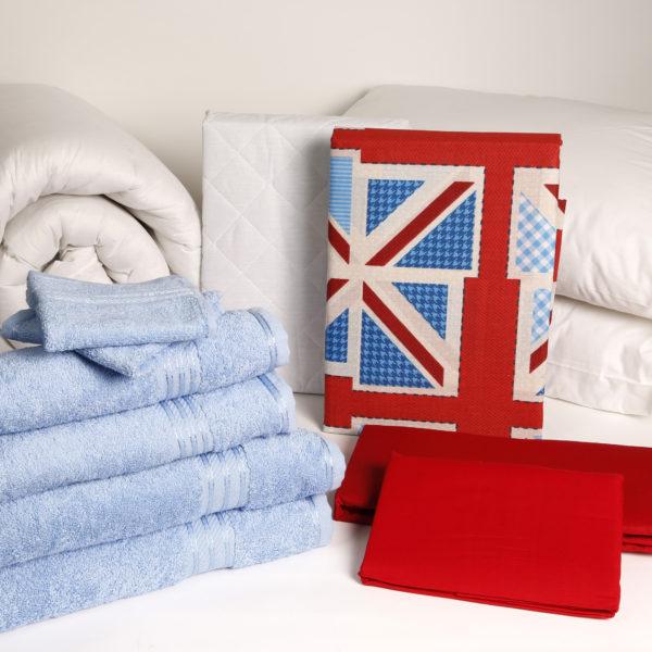 Student Linen Home Comfort Pack - Union Jack Duvet Cover-2944
