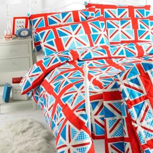 Student Linen Home Comfort Pack - Union Jack Duvet Cover-0