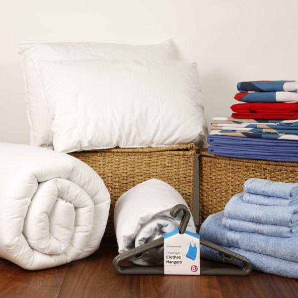 Student Linen Home Comfort Pack - Geometric Pattern Duvet Cover-3183