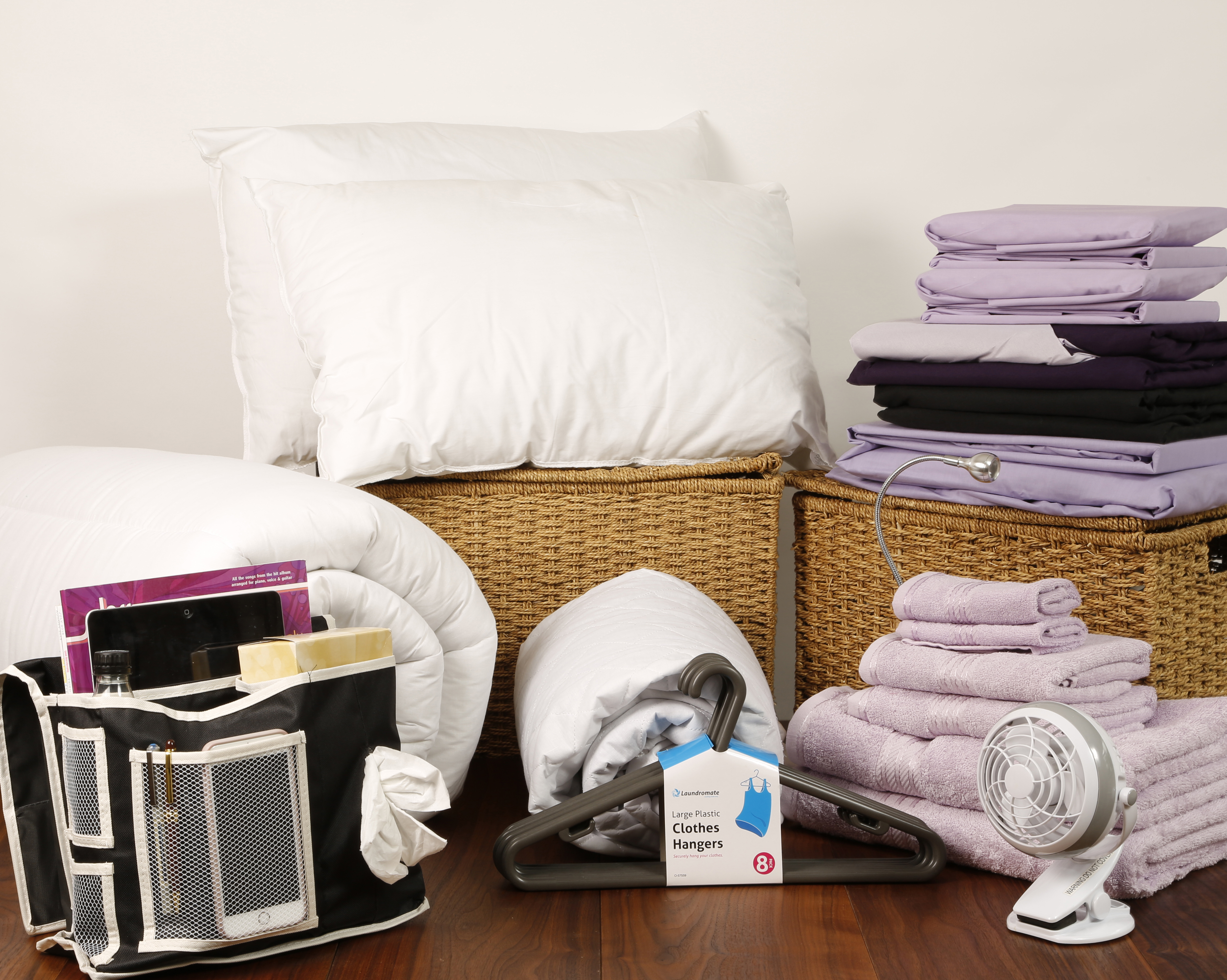 Student linen home comfort plus pack reversible lilac for Comfort house