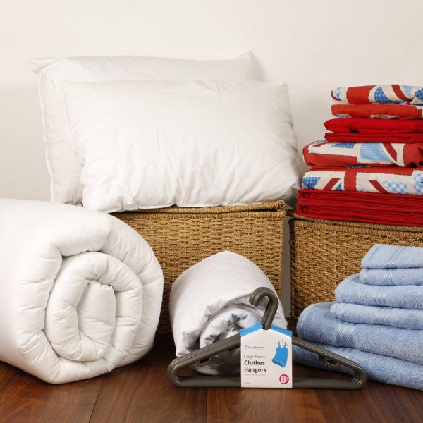 Student Linen Home Comfort Pack - Union Jack Duvet Cover-3185